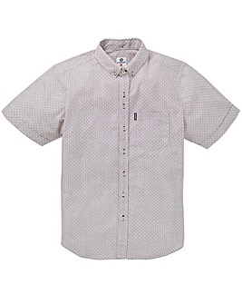 Lambretta Diamond Geo Print Shirt Reg