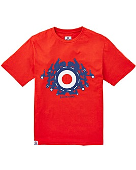 Lambretta Target Scooter T-Shirt Regular