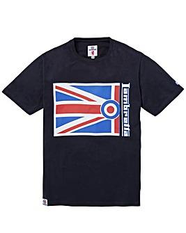 Lambretta Flag Target T-Shirt Regular