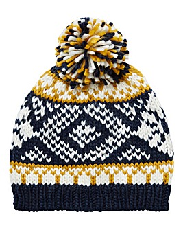 Williams & Brown Fairisle Beanie