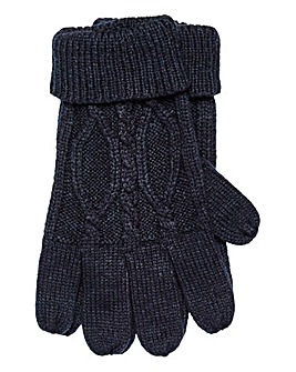 W&B Cable Knit Gloves