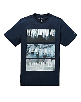 Firetrap Trait T-Shirt Long