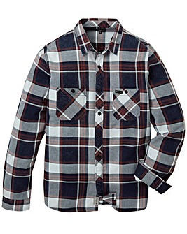Firetrap Innis Check Shirt Long