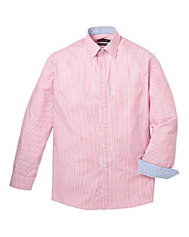 DOUBLE TWO SATIN STRIPE SHIRT