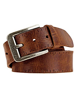 Souled Out Tan Casual Leather Belt