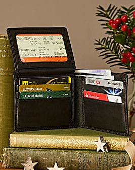 Leather Wallet Anti-Fraud Technology