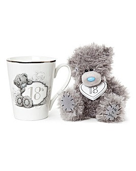 Me to You Gift Boxed 18th Mug and Plush