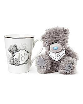 Me to You Gift Boxed 18th Mug and Plush