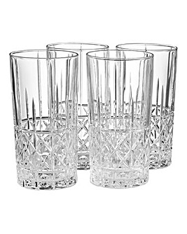 Waterford Marquis Brady Hi Ball Glasses