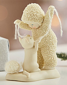 Snowbabies Cat