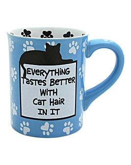 Tastes Better with Cat Hair Mug