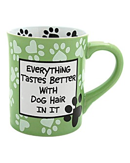 Tastes Better with Dog Hair Mug