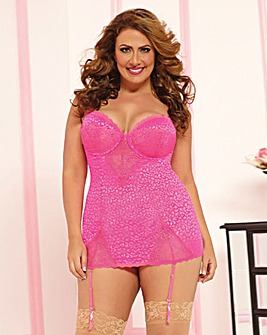 Seven Til Midnight Candy Cat Chemise