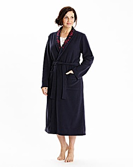 Miliarosa Fleece Wrap Gown L44