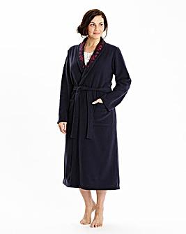 Miliarosa Fleece Wrap Gown L44