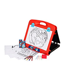 Ultimate Spiderman Travel Art Easel