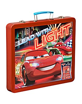 Disney Cars Tin Art Case