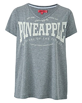 Pineapple V Neck tee