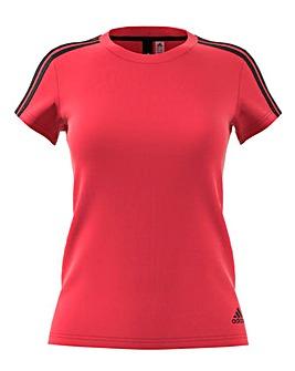 Adidas 3 Stripe Slim tee