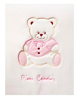 Pierre Cardin Luxury Embroidered Blanket