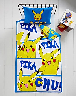 Pokemon Panel Duvet