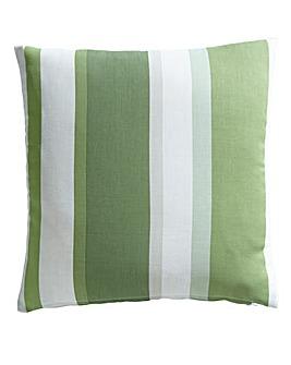 Clevedon Stripe Filled Cushion