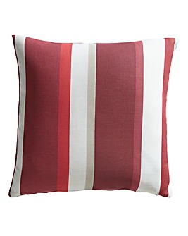 Clevedon Stripe Filled Cushion