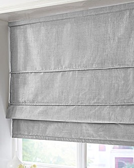 Faux Silk Thermal Roman Blind