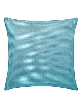 Alice Waffle Plain Dye Filled Cushion
