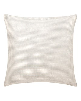 Alice Waffle Plain Dye Filled Cushion