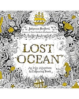 LOST OCEAN AN INKY ADVENTURE & COLOURING