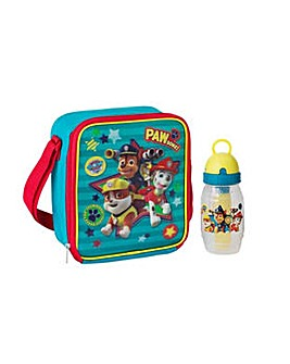 Paw Patrol Lunch Bag and Bottle.