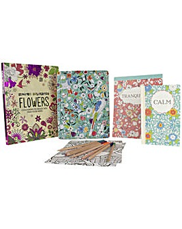 Inspired Colouring Tin and Book.
