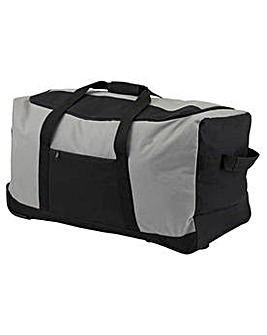 Go Explore Medium Wheeled Holdall - Grey