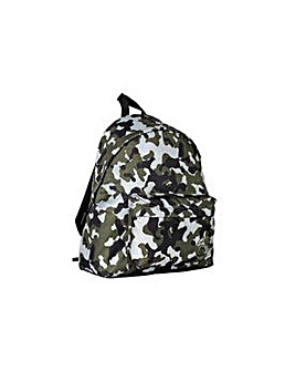 Trespass Green Camo Backpack.