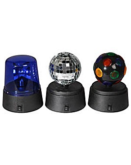 Funki Party Set with Mini Disco Lights