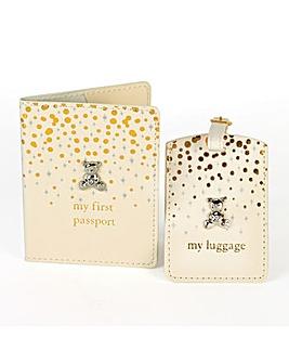Bambino Passport and Luggage Tag Set