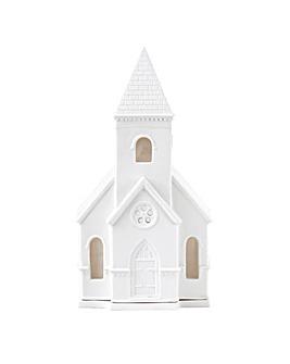 Wedgwood Christmas Church Lithophane