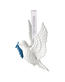 Wedgwood Christmas Dove Ornament