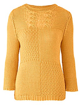 Joanna Hope Cable Knit Jumper