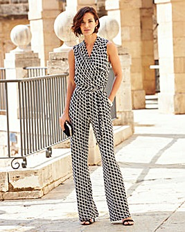 Joanna Hope Print Jumpsuit