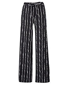 Joanna Hope Stripe Linen Blend Trousers