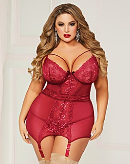 Seven Til Midnight In Vogue Chemise Set