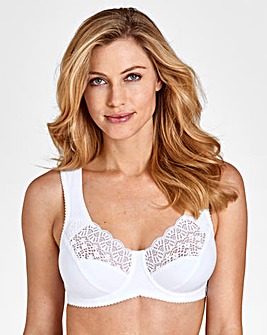 Miss Mary Cotton Side Support Wired Bra