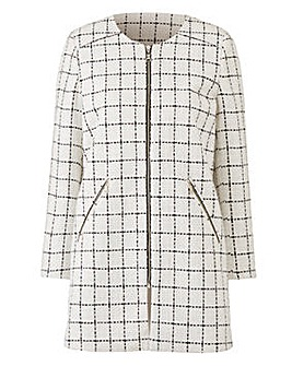 Joanna Hope Check Jacket
