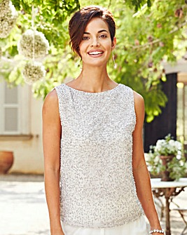 Joanna Hope Beaded Top