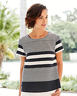 Joanna Hope Stripe Blouse