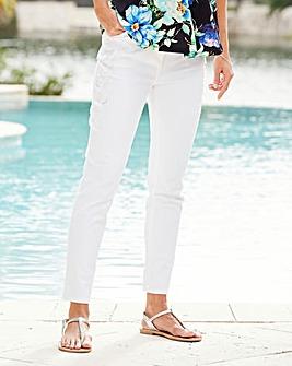 Joanna Hope Applique Detail Jeans