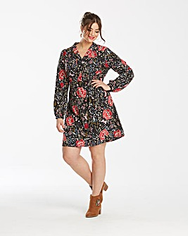 Junarose Floral Printed Dress