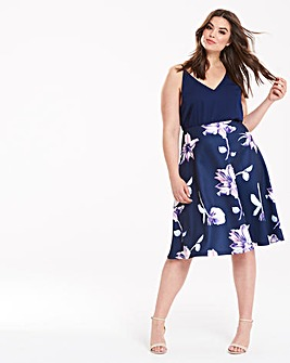 AX Paris Printed Prom Dress